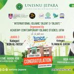 FSH UNISNU Jepara Sabet Prestasi Internasional