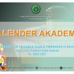 Kalender Akademik UNISNU Jepara Tahun 2020/2021
