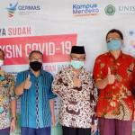Sebanyak 239 Dosen dan Tenaga Kependidikan UNISNU lakukan Vaksinasi Tahap Pertama