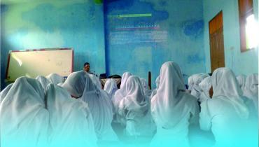FSH UNISNU Sosialisasi Haidh dan Istihadhoh di SMK Kholiliyah