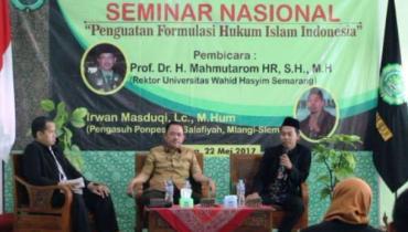Penguatan Formulasi Hukum Islam dalam Kemajemukan.