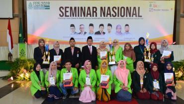 Prodi Perbankan Syariah Juara I National Competition Sharia Banking FEIS 2019 UIN Walisongo Semarang.