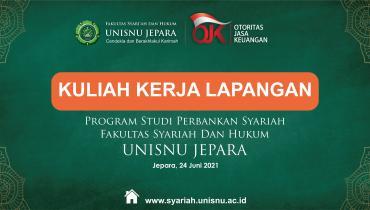 KKL Virtual PRODI Perbankan Syariah FSH UNISNU Bersama OJK Tahun 2021