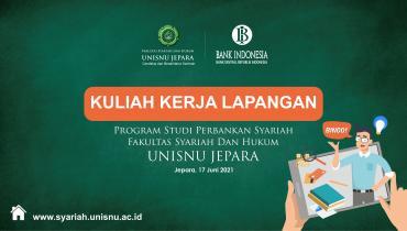 KKL Virtual PRODI Perbankan Syariah FSH UNISNU Bersama Bank Indonesia Tahun 2021