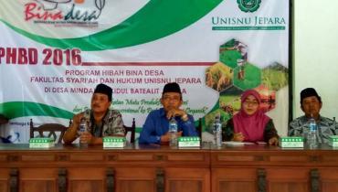 Lagi, Mahasiswa FSH UNISNU Mendapat Program Hibah Bina Desa
