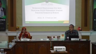 Workshop Penyusunan Visi Misi Progdi Perbankan Syariah