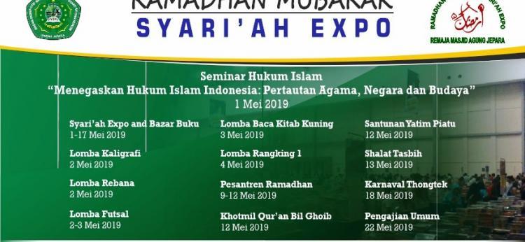Syariah Expo & Ramadhan Mubarok 2019