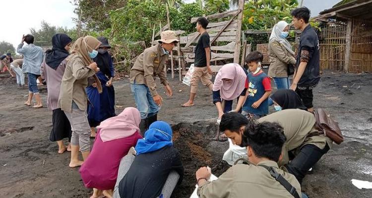 Tanggap Bencana FSH di Kawasan Pesisir Kampung Nelayan Desa Donorojo