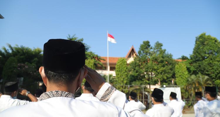 Kemerdekaan Republik Indonesia, UNISNU Laksanakan Upacara Secara Terbatas