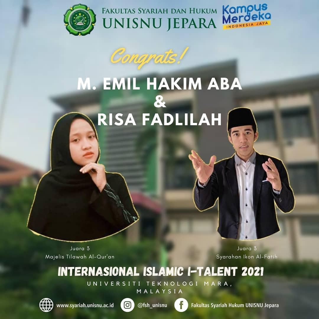 """INSTERNATIONAL ISLAMIC TALENT (I-TALENT)"""""""